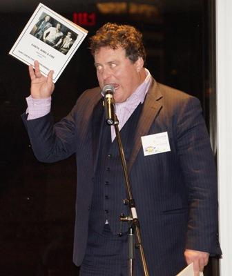 Sean auctioning
